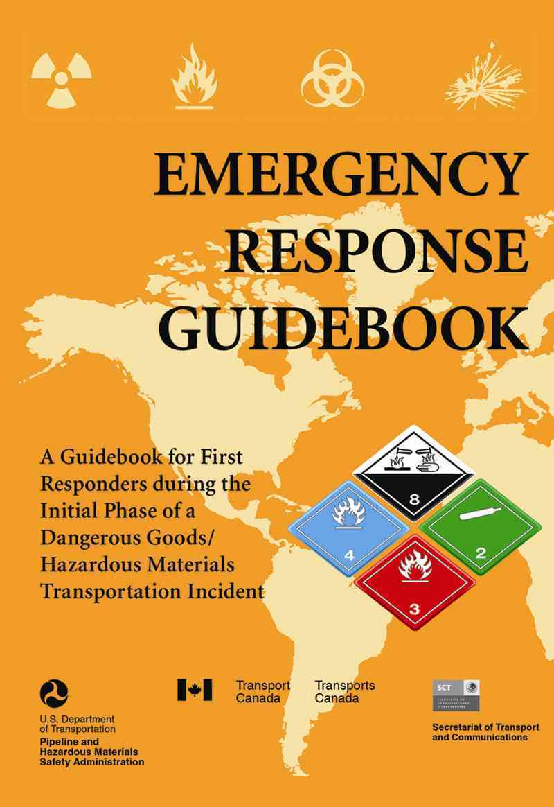 Emergency Response Guidebook By U. S. Department of Transportation (COR)